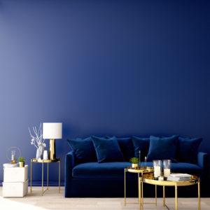 Blau in den unterschiedlichsten Nuancen