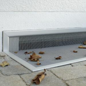 Insektenschutz Kellerlichtschacht